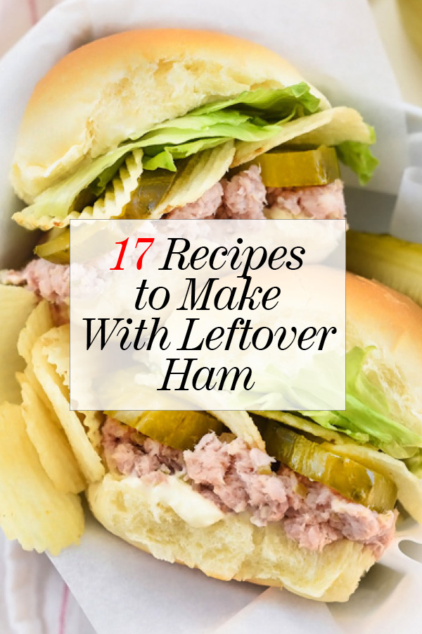 17 Recipes to Make With Leftover Ham 61