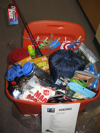 8 healthy themed easter basket ideas furilia your daily fix in hiking basket below from a school fundraiser negle Gallery