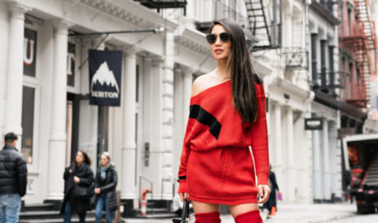 Spring Refresh :: Sweater dresses & Red boots