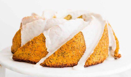 Lemon Poppy Seed Bundt Cake Recipe