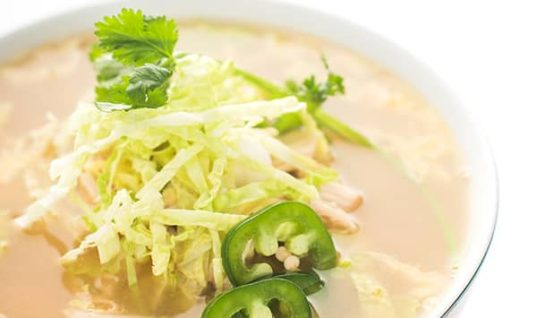 Asian Chicken Cabbage Soup Recipe