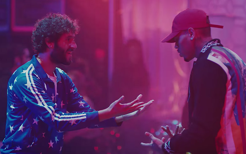 "Chris Brown & Lil Dicky Switch Lives in Hilarious ""Freaky Friday"" Music Video 57"