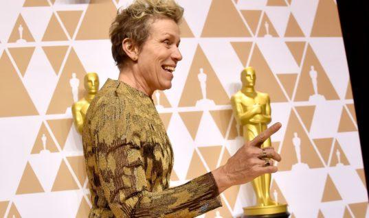 12 Best Tweets About Frances McDormand's Oscars Speech / Elle.com