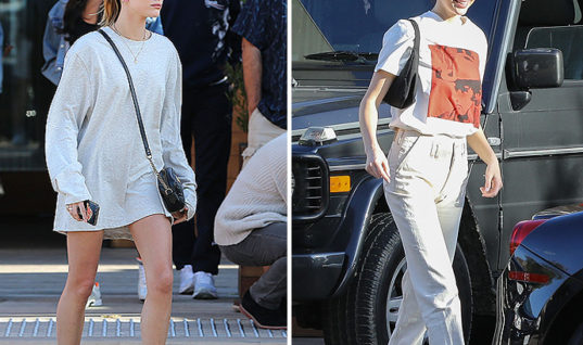 Kendall Jenner And Hailey Baldwin Hit Malibu In Kenny's Ferrari – X17 Online