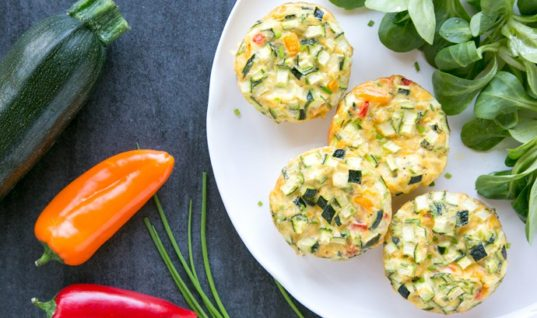 Veggie Omelet Muffins – The Petite Cook