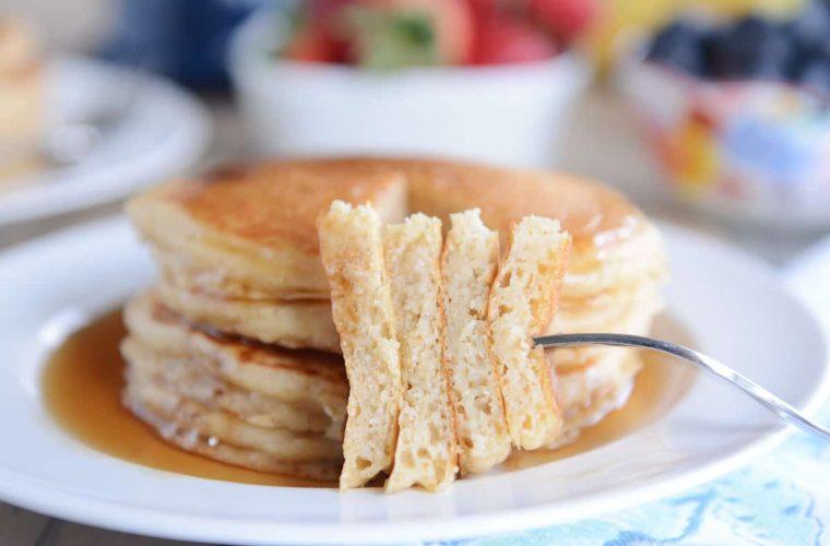 Fluffy Buttermilk Overnight Pancakes Recipe