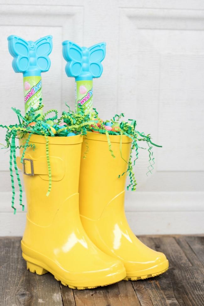 Rain Boot Easter Basket 36