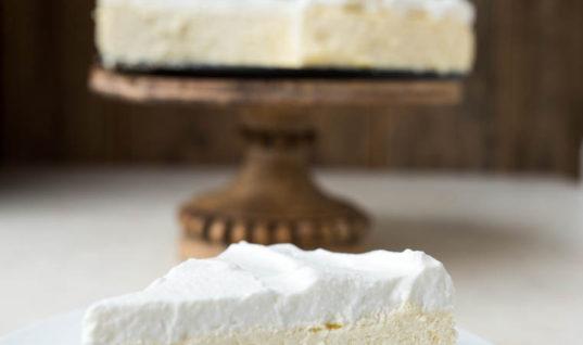 Sugar Free Low Carb Cheesecake (Keto, Crustless)