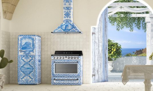 Smeg x Dolce & Gabbana 'Divina Cucina' Kitchen Collection