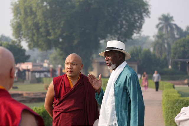 A Buddhist Monk Reveals To Morgan Freeman The 3 Real Miracles In The World 38