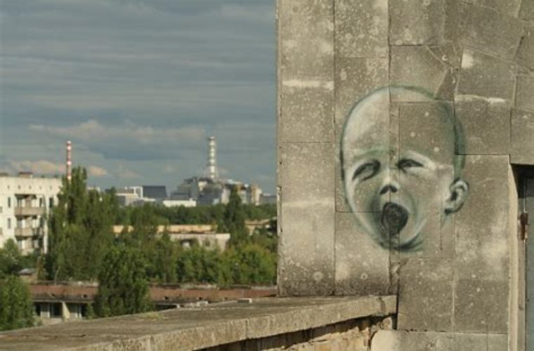 Chernobyl Atomic Spring in the only city that remained Soviet forever