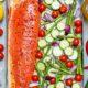 Chili Lime Salmon with Veggies Recipe