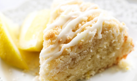Wonderful Breakfast or Dessert Recipe – Lemon Crumb Cake