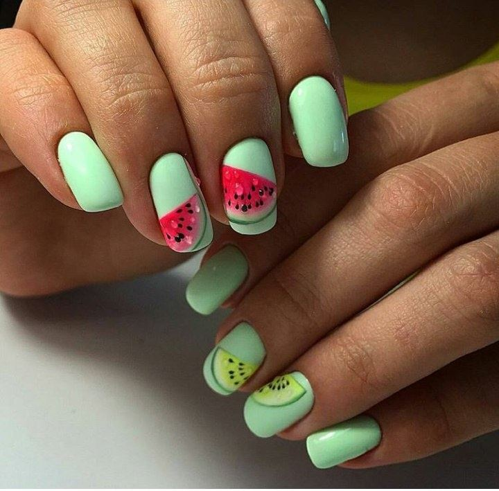 The Latest Trends In Nail Art 2018 And Spring-Summer