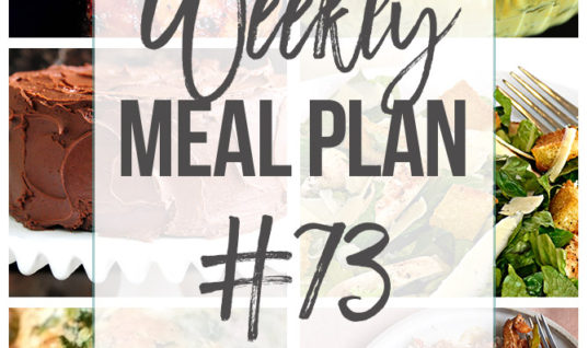 Weekly Meal Plan #73 – Add a Pinch