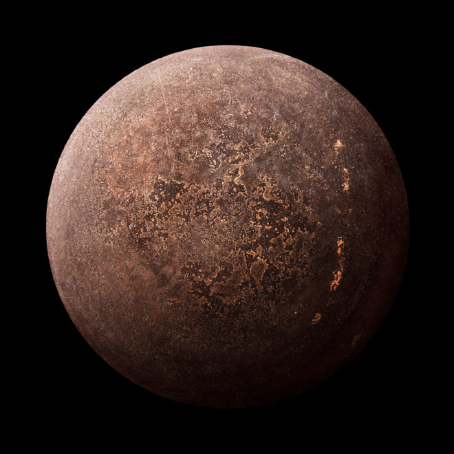 Real Frying Pans That Look like Alien Planets 76