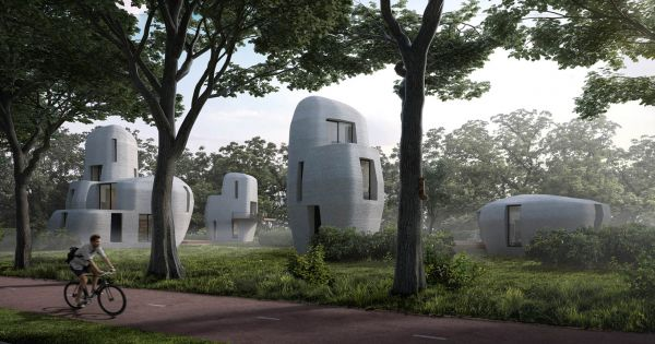 The City of Eindhoven Is 3D Printing the First Habitable Houses 41