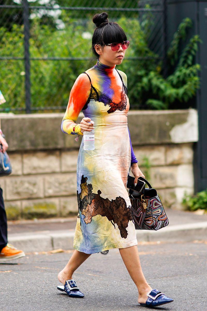 Paris Haute Couture Fashion Week Street Style 87