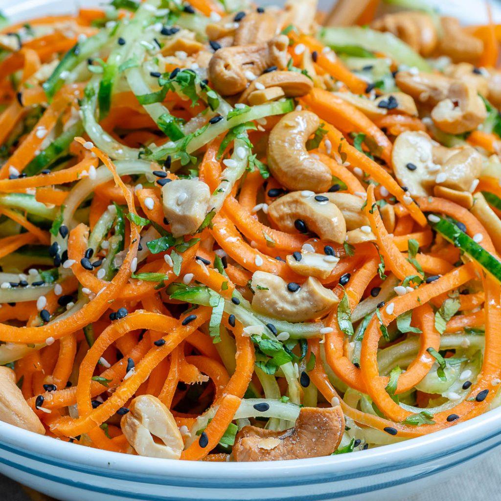 Eat Clean Veggie Noodle Salad
