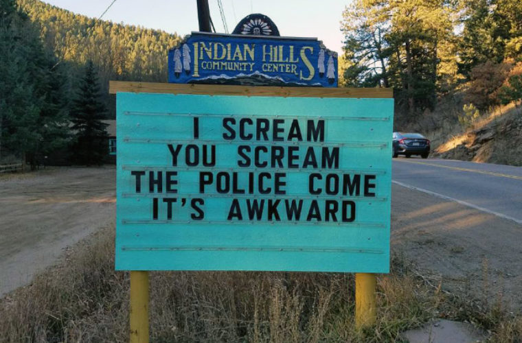 You Dont Need to Drive to Colorado to See These Funniest Signs Ever