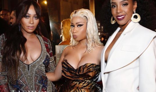The Harper's Bazaar Icons Party with Nicki Minaj in Alexandre Vauthier, Cardi B in Dolce Gabbana, Lala in Naeem Khan!