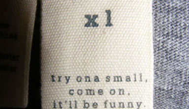 The Funniest Clothing Labels You Have Ever Seen