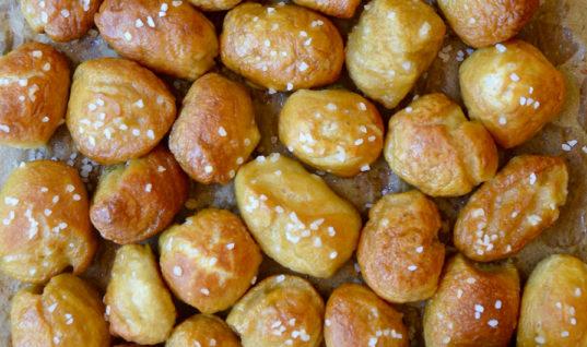 Easy Soft Pretzel Bites Recipe