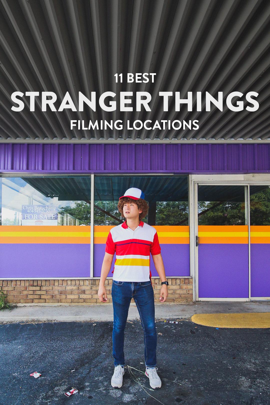 11 Best Stranger Things Filming Locations You Should Visit Now // Local Adventurer #atlanta #georgia #usa #travel #tv #movies #filmlocation #strangerthings