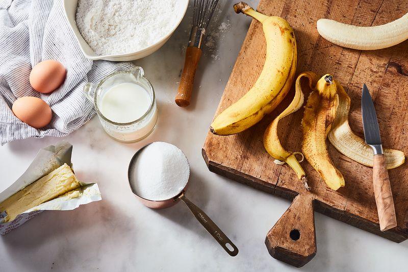 Yummy Fluffy Banana Layer Cake Recipe 44