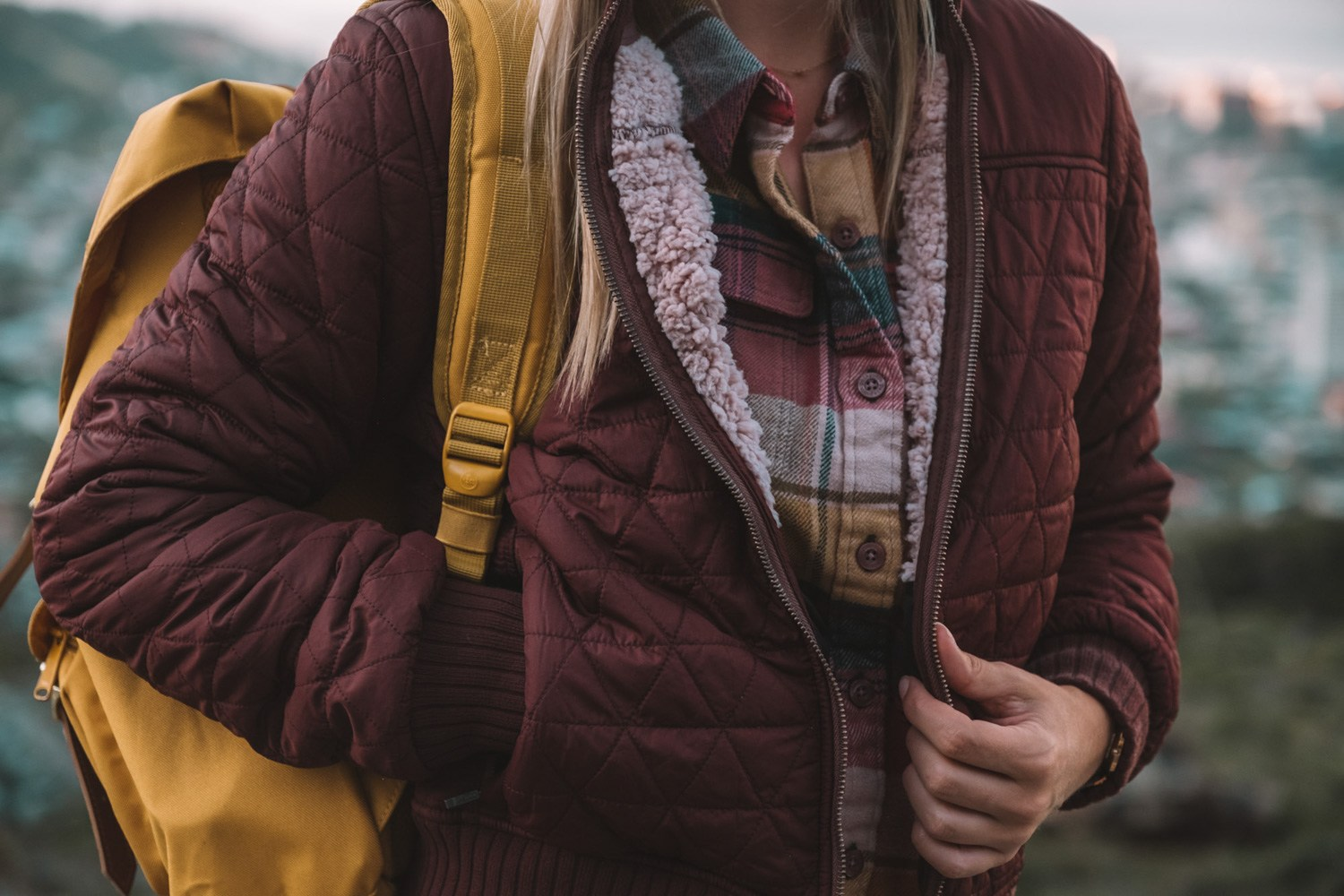 Flannel Layered Fall Outfit