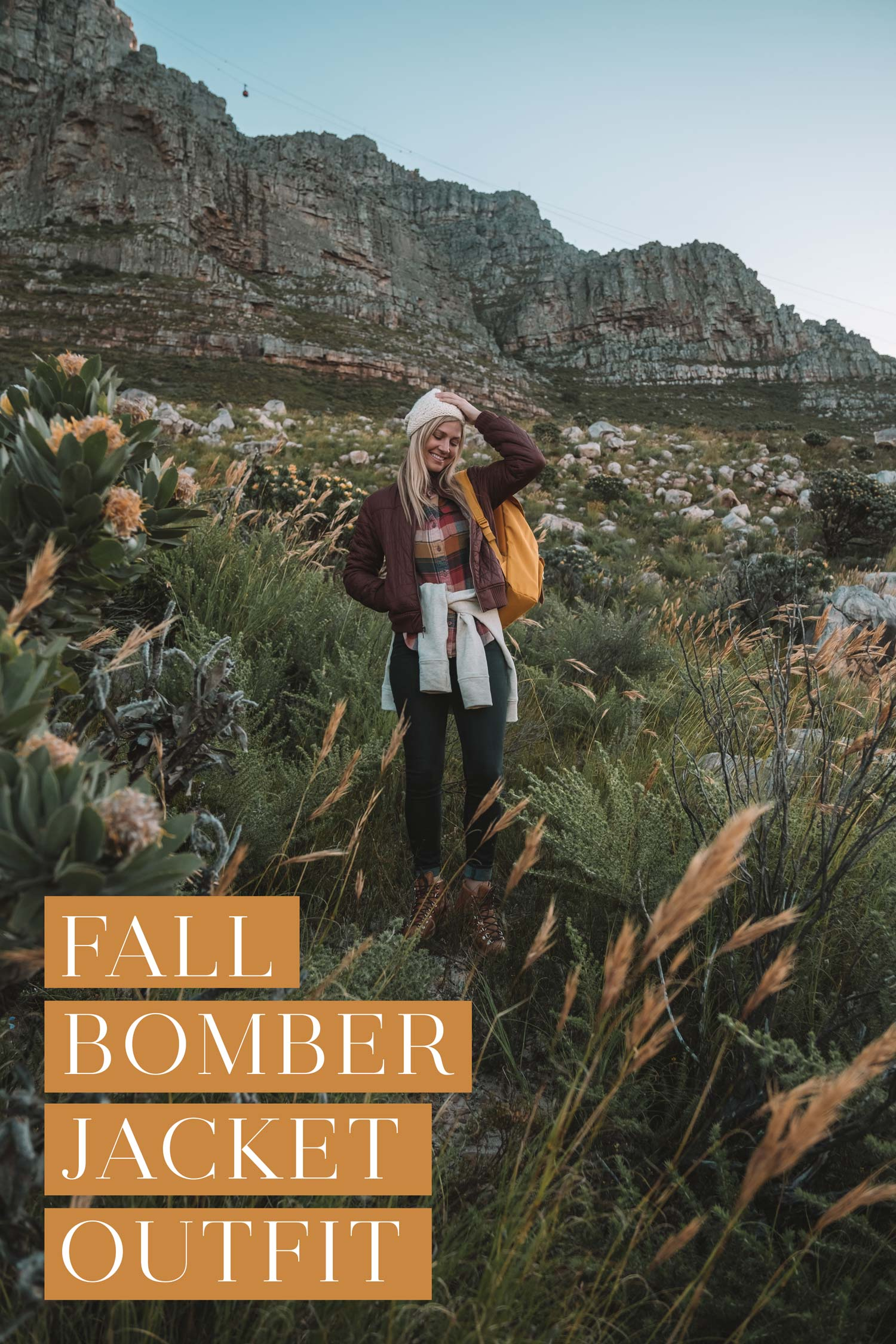 Fall Bomber Jacket Outfit from Backcountry