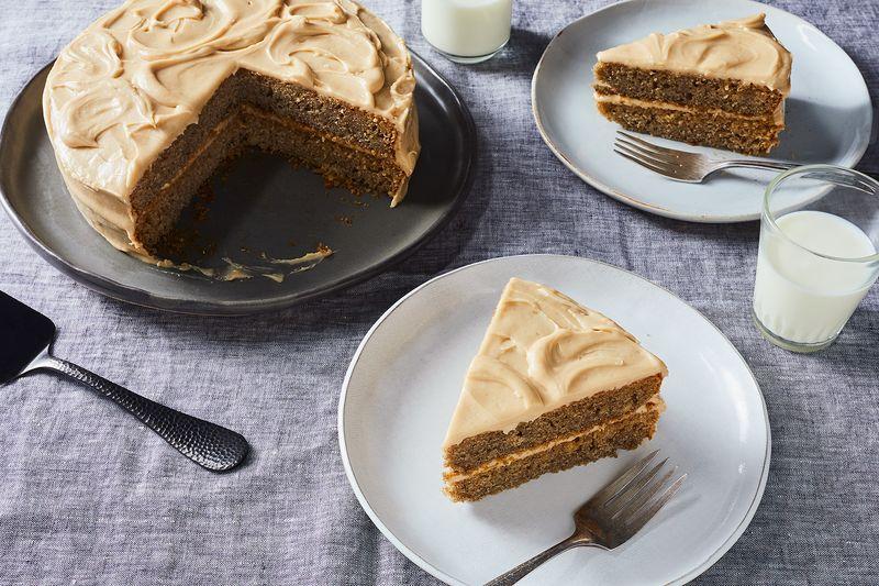 Yummy Fluffy Banana Layer Cake Recipe 43