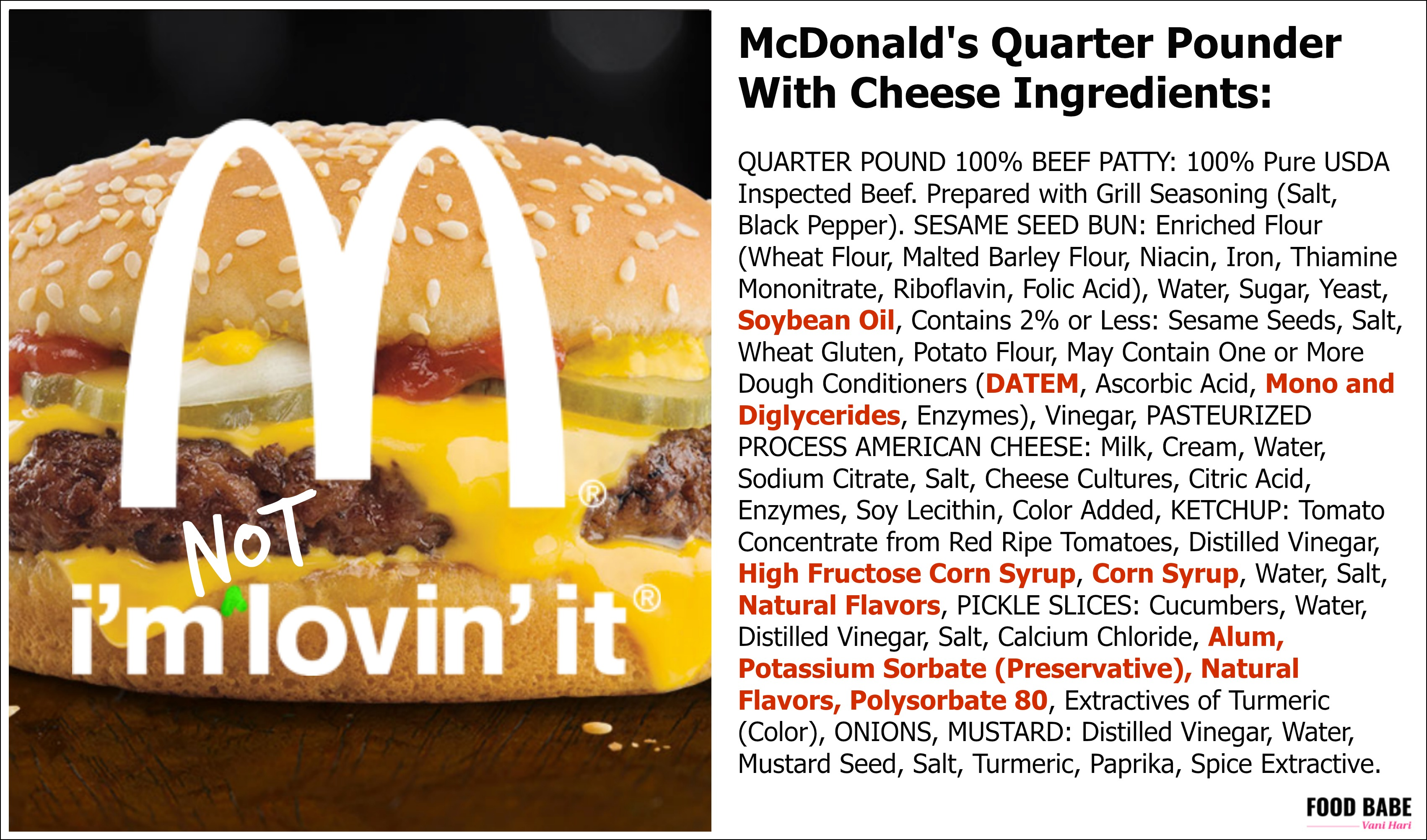 They Say McDonald's Is Removing Artificial Ingredients - Here's the truth about McDonald's food! 49