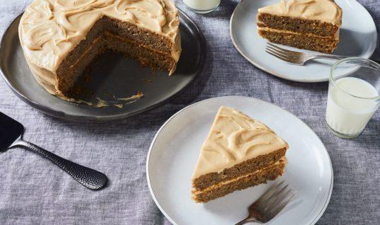 Yummy Fluffy Banana Layer Cake Recipe