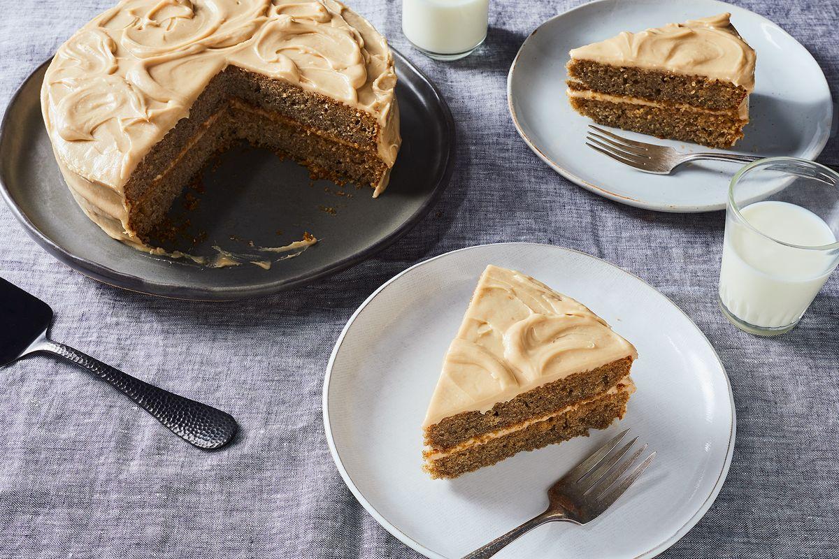 Yummy Fluffy Banana Layer Cake Recipe 42