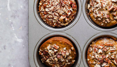 Moist And Delicious Maple Pecan Banana Muffins Recipe