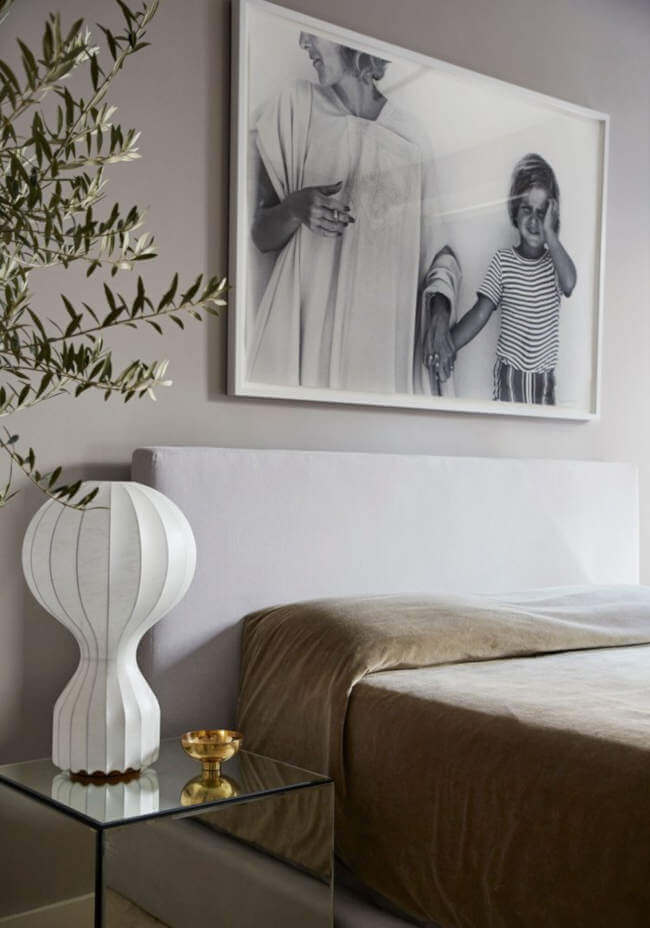 Bold Statement Artworks Instead of a Wall, a Gallery Wall. 79