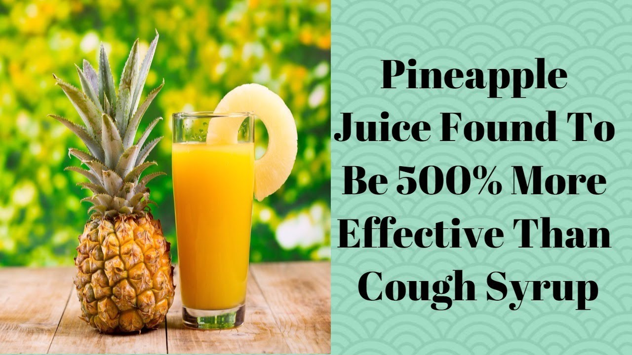 Powerful All-natural Cough Suppressant Recipe. Fresh Juice is More Effective Than Cough Syrup! 39