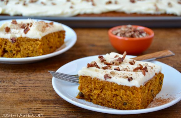 Pumpkin Bars with Cream Cheese Frosting Recipe 36