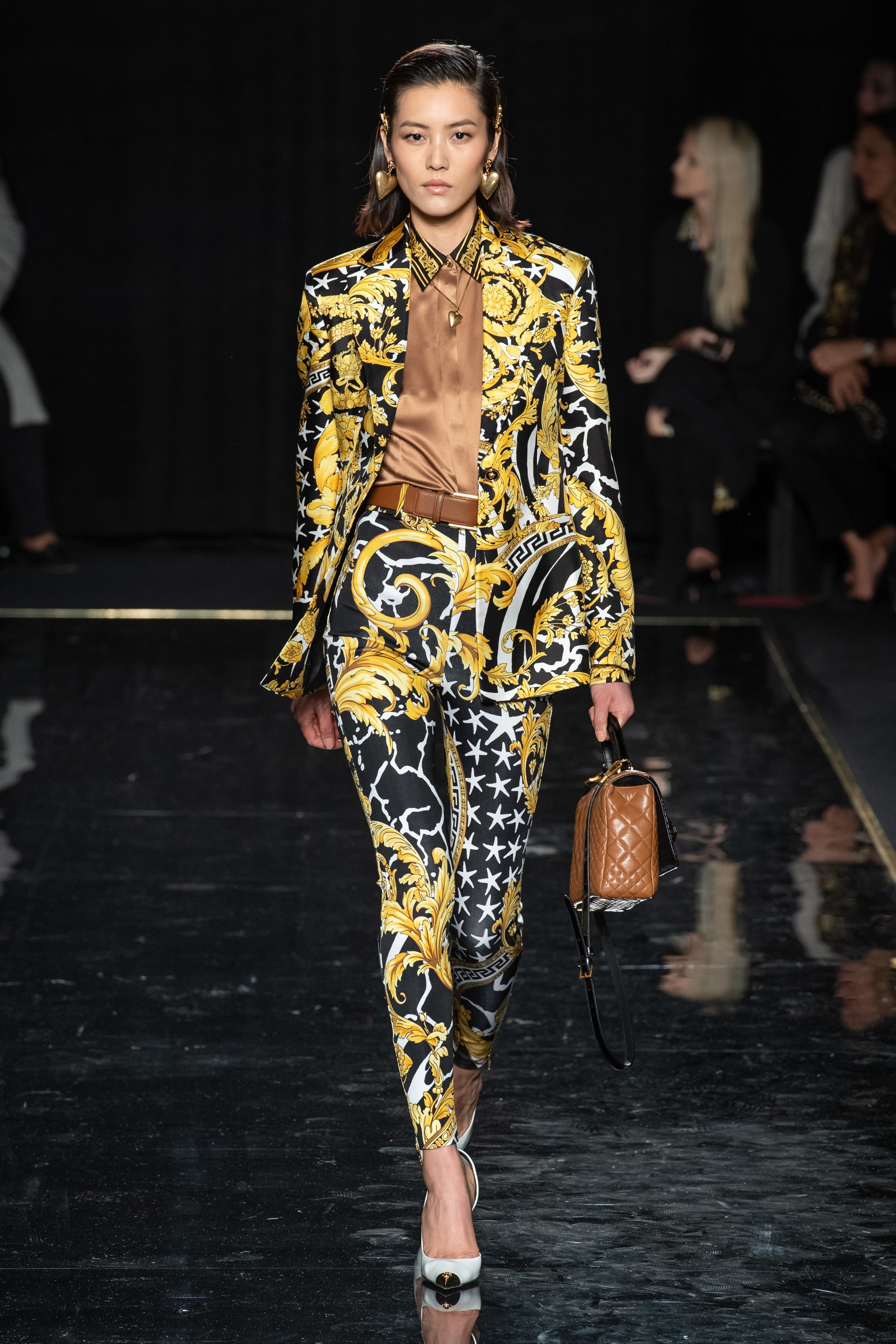 Versace Pre-Fall 2019 show at the Stock Exchange in Downtown Manhattan. 81