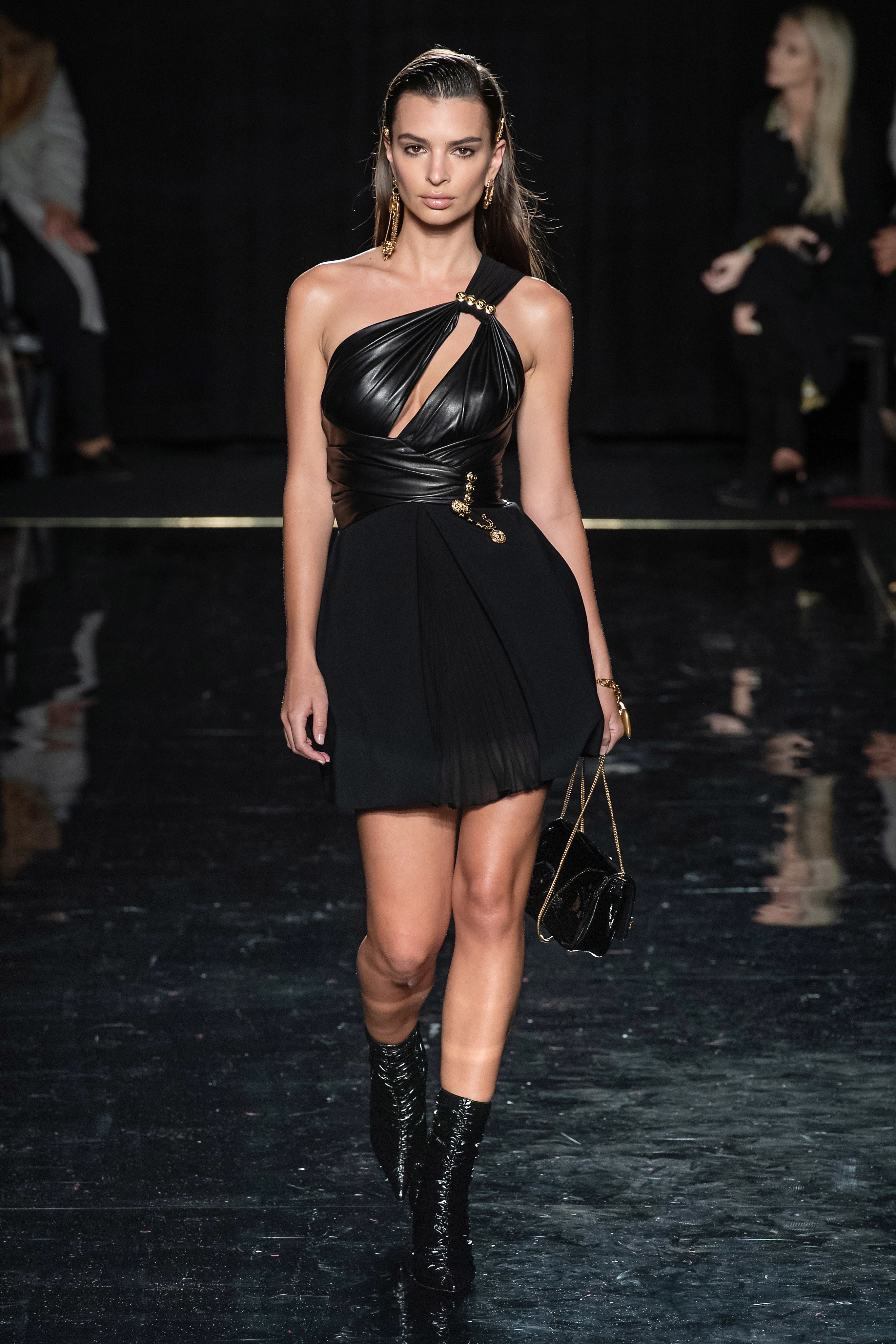 Versace Pre-Fall 2019 show at the Stock Exchange in Downtown Manhattan. 83