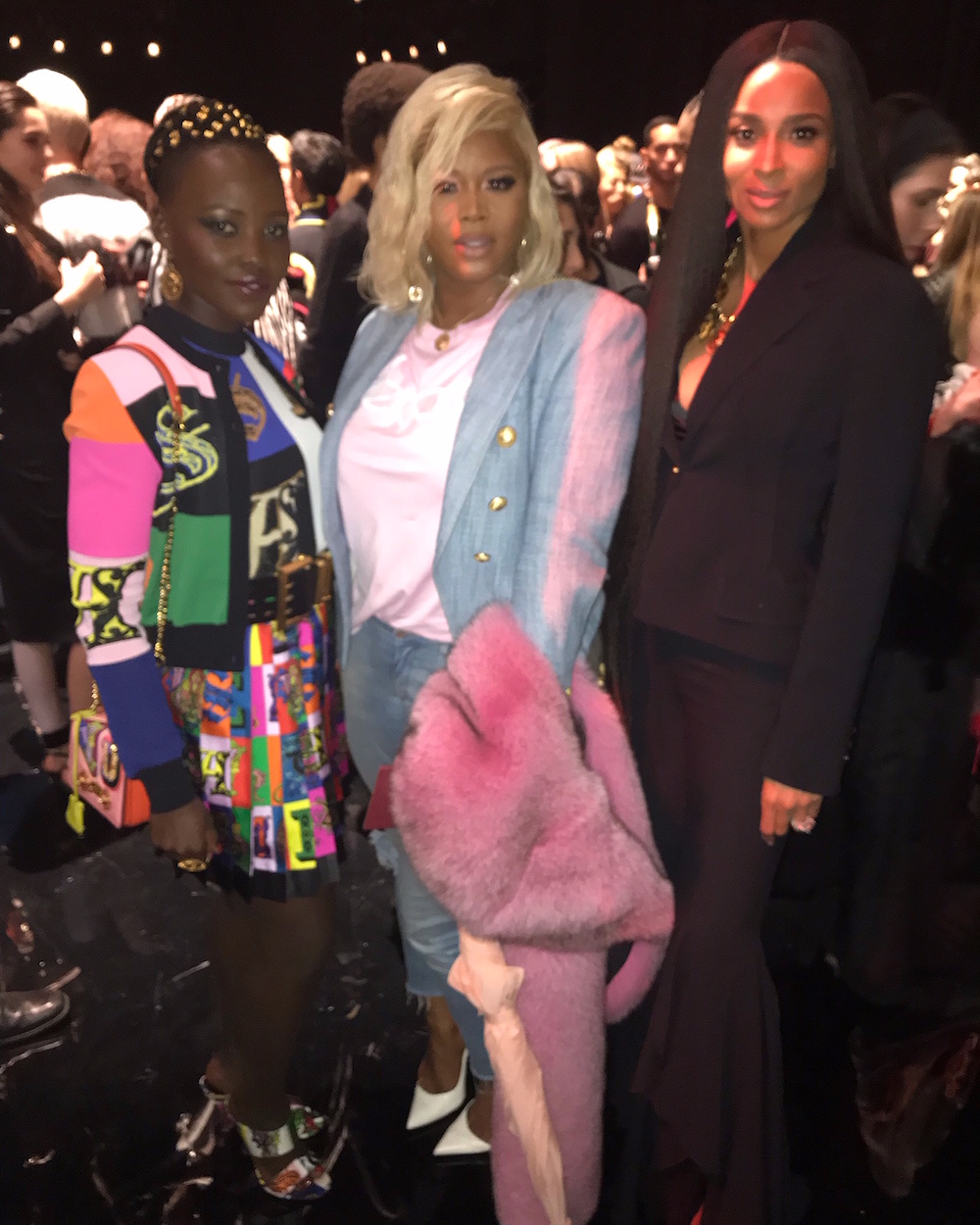 Versace Pre-Fall 2019 show at the Stock Exchange in Downtown Manhattan. 92