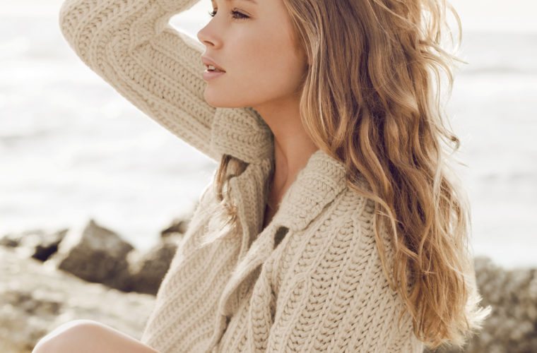 Festive Hair Styles: Beautiful Beach Waves and Ponytails.