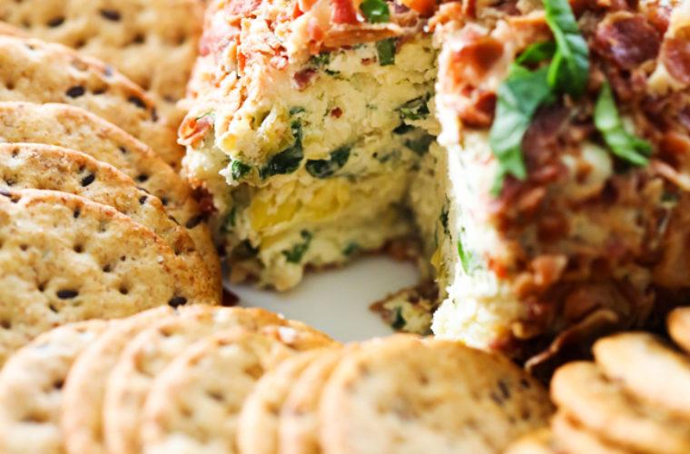 Favourite Spinach Artichoke Cheese Ball Recipe
