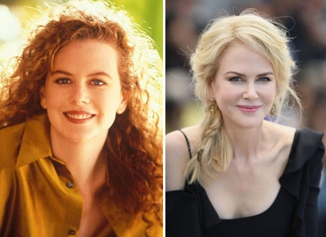 Nicole Kidman with natural hair color