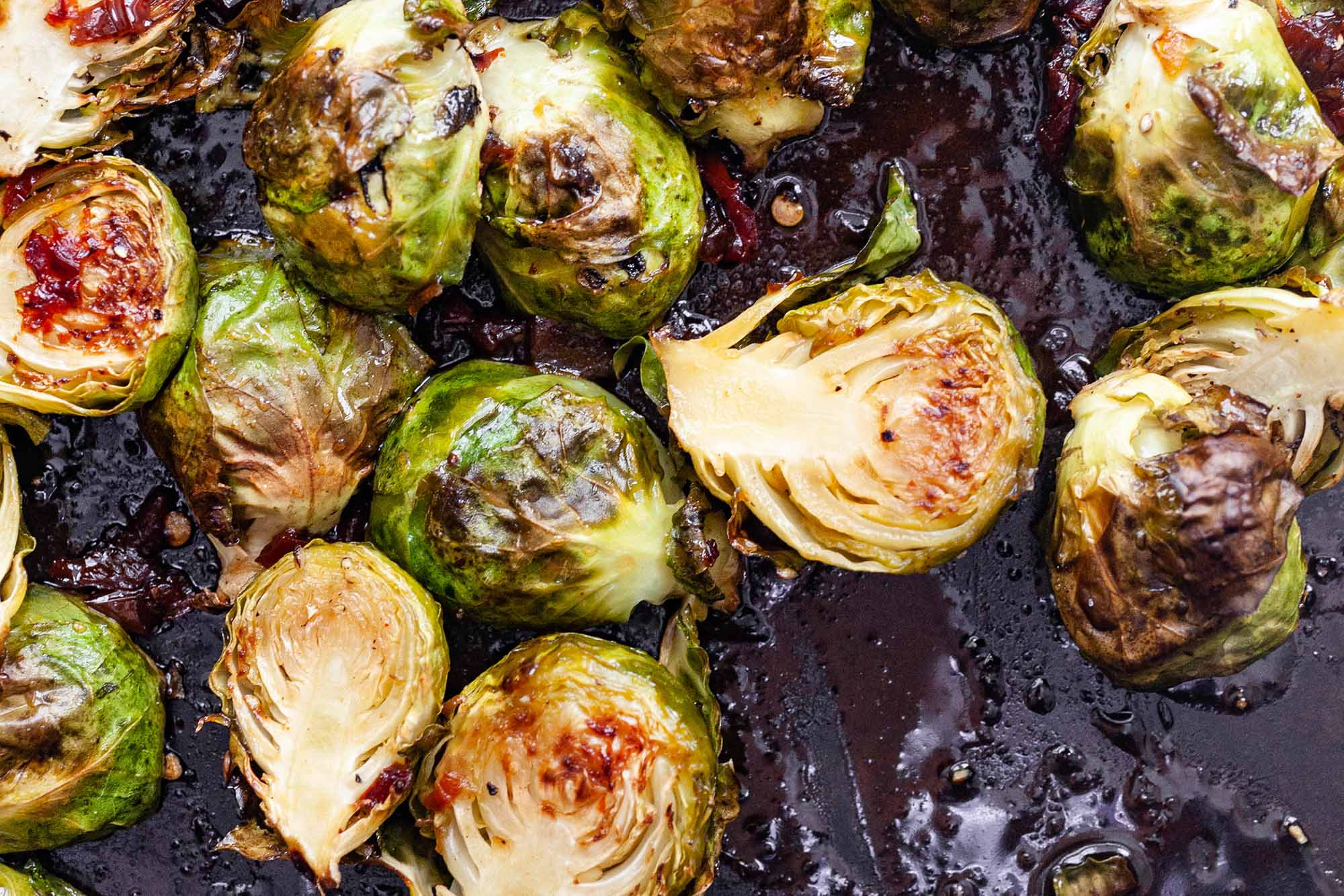 Roasted Brussels Sprouts with Chipotle