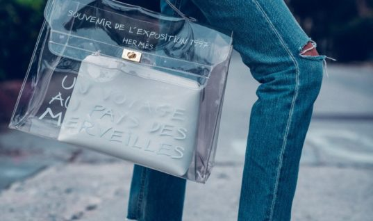 How to Wear Clear Bag Trend…