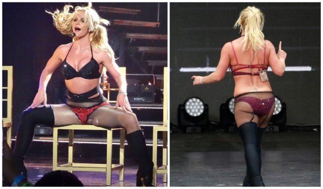 Britney Spears in little panties