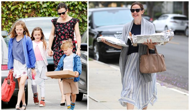 Jennifer garner with kids
