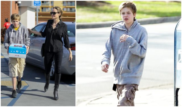 Angelina Jolie goes with daughter Shilo